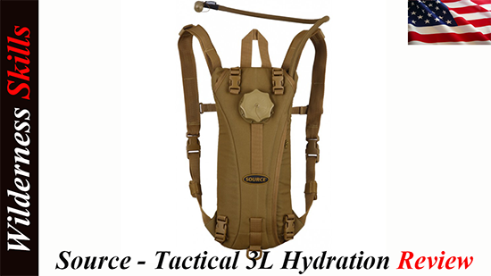 Source – Tactical 3L Hydration Pack Review